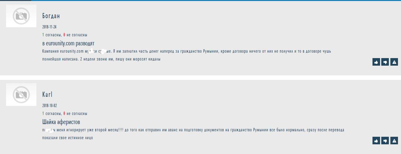 eurounity.com отзывы на otzyvy.org.ua