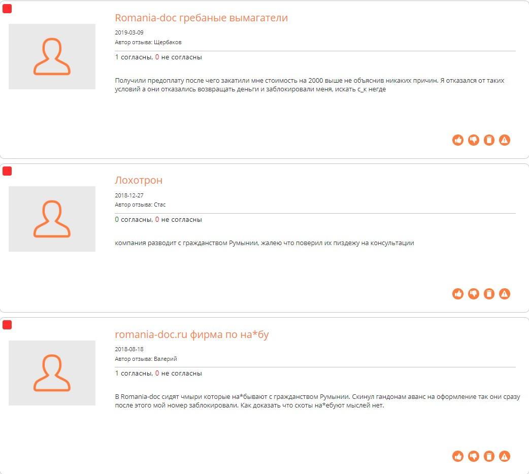 romania-doc.ru отзывы на сайте corpindex.ru